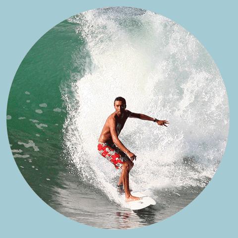 Costa Rica Surf Map