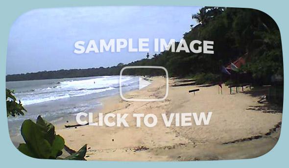 Playa Cahuita Live Wave Cam