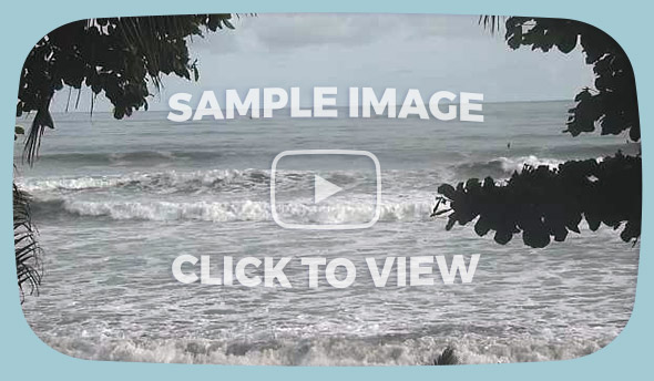 Dominical Live Surf Cam