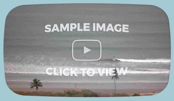 Nosara Surf Cam - Sample Images