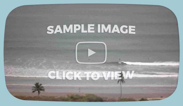 Nosara Surf Cam - Sample Images