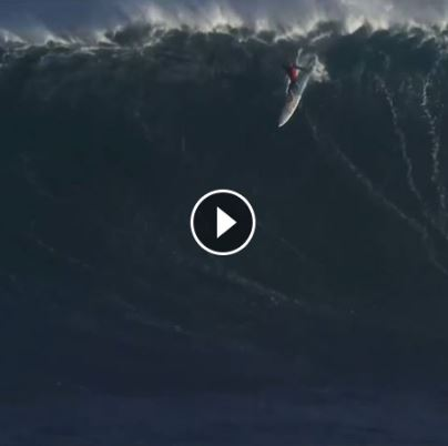 big wave surfers