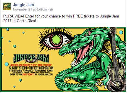 Win a Jungle Jam Tickets 2017