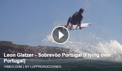 Leon Glatzer Flying over Portugal video.
