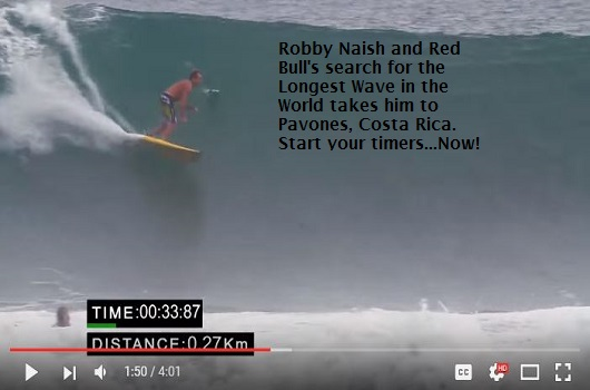 Pavones, Costa Rica - Longest Wave