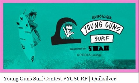 Vote for Malakai Martinez and Leilani McGonagle to represent Costa Rica in the Quiksilver Young Guns #YGSURF #CostaRica #travel #ProSurfers https://crsurf.com
