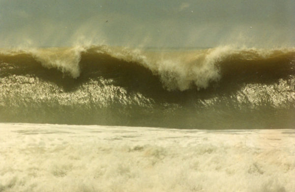 Giant set wave in Dominical