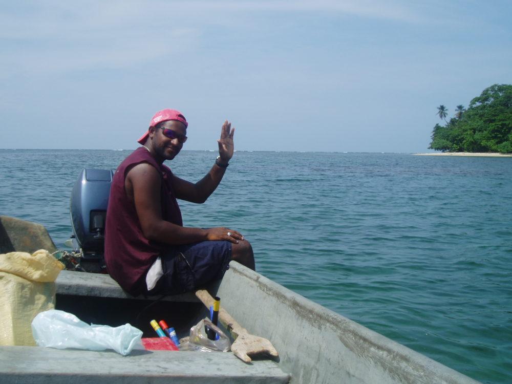Caribbean Boat taxi
