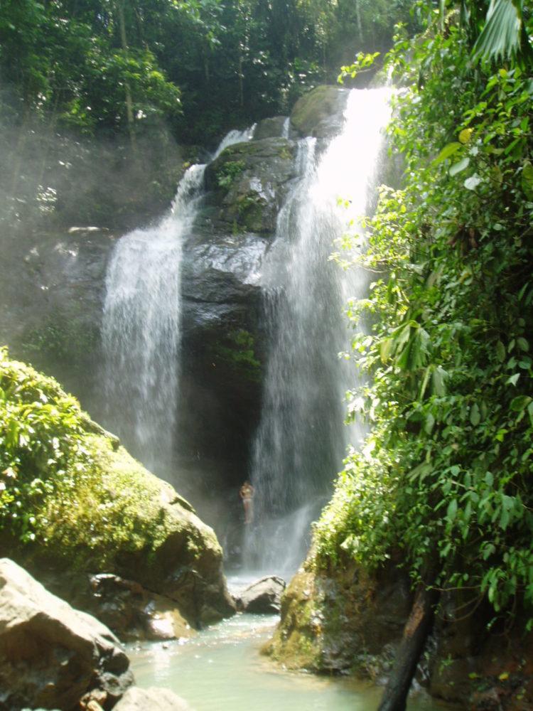 Caribbean waterfall tour