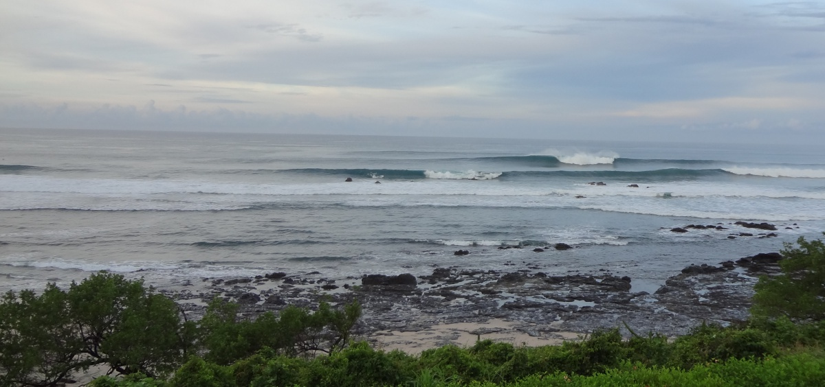 Surf breaks around Tamarindo