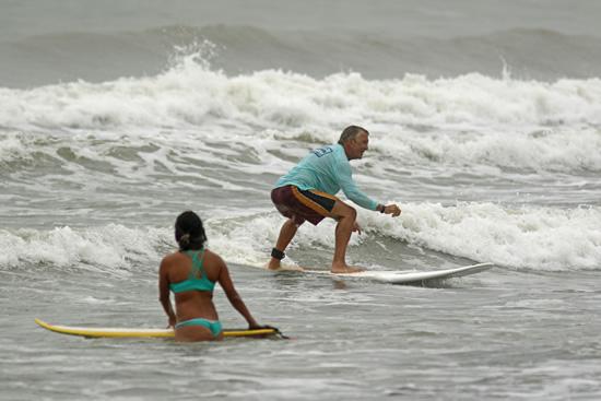 Surf lesson Jaco
