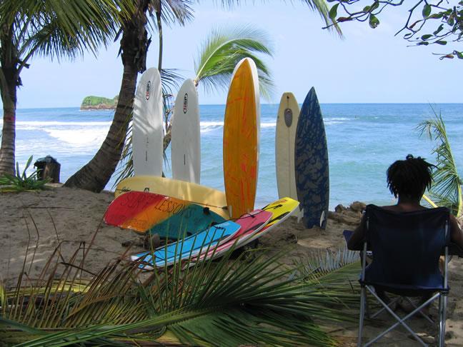 Playa Cocles Caribbean