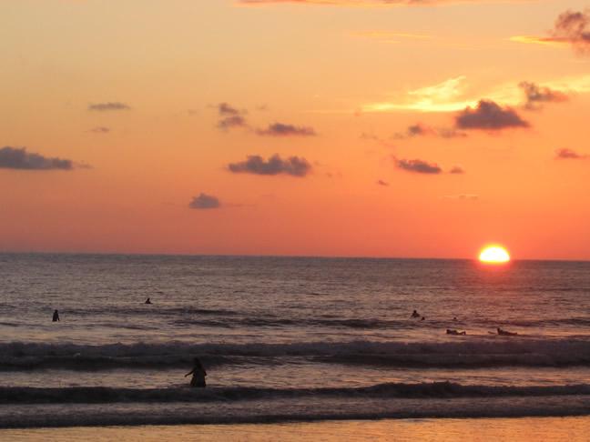 Jaco sunset