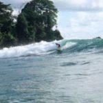 Osa Peninsula secret surf spot