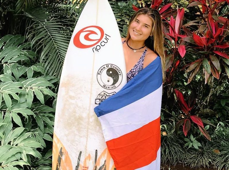 Brisa Hennessy WCT Pro surfer