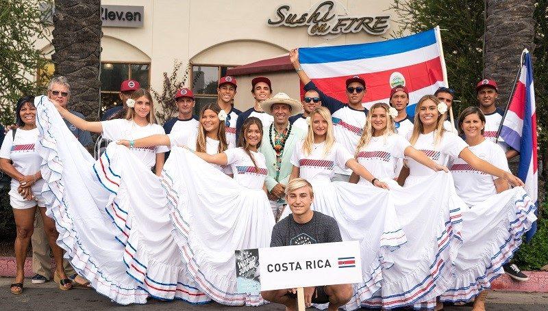 Costa Rica Junior Surf Team 2018