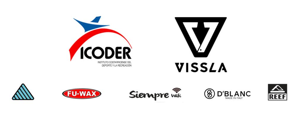 Federation de Surf sponsors