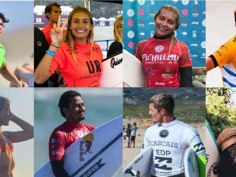 Costa Rica surf team