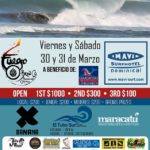 Dominical Surf Concurso para beneficiar a los salvavidas