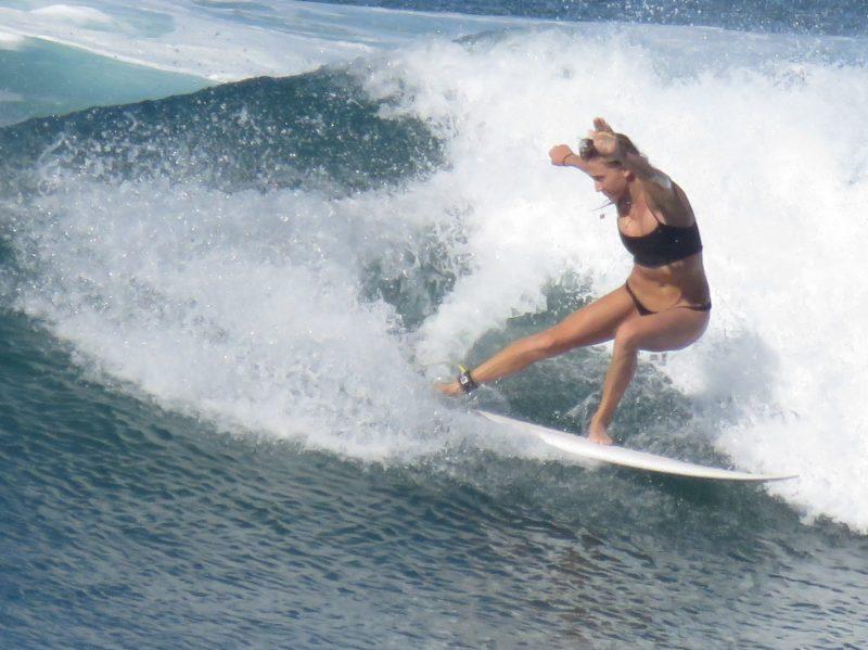 Evie Johnstone Santa Teresa surfer