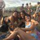 Envision Festival beach friends