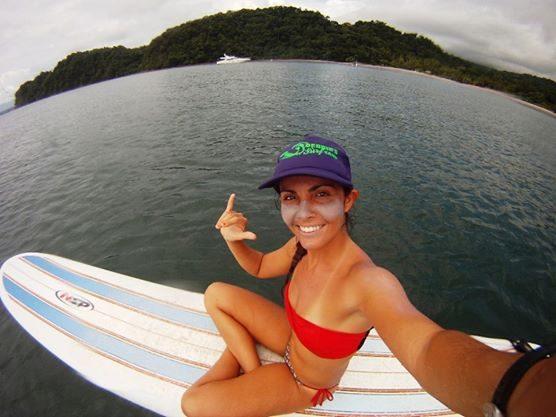 Debbie Zec - owner of Dominical Surf School