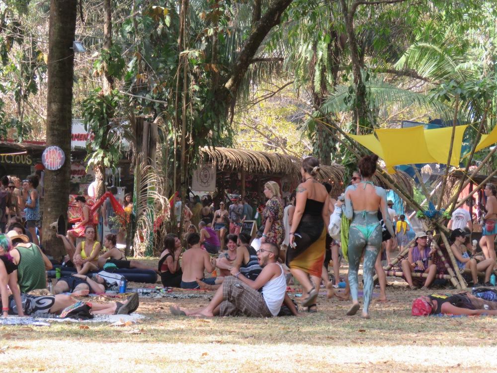Envision Festival community village - a plastic free event.