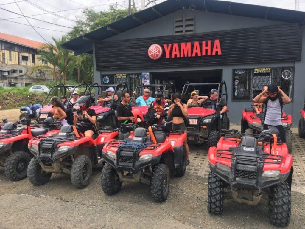 Jungle ATV office in Uvita