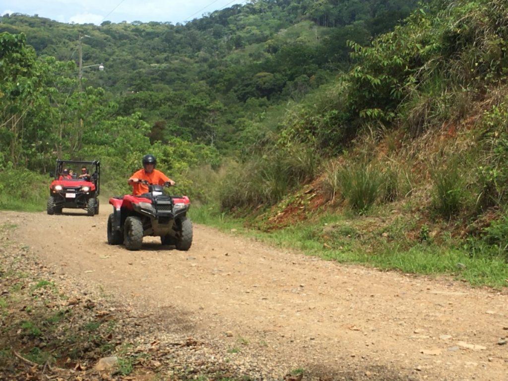 ATV riding with Jungle ATV in Uvita