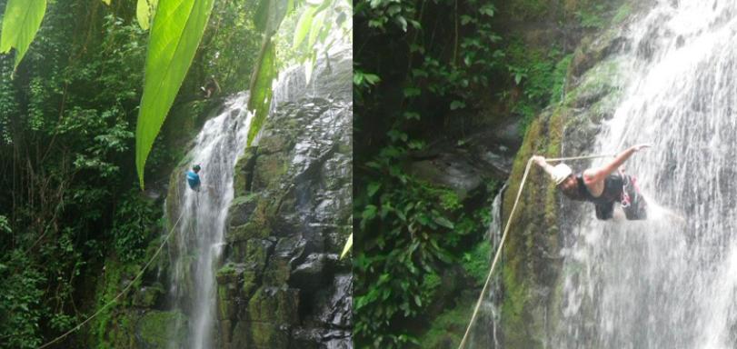 waterfall-rapelling