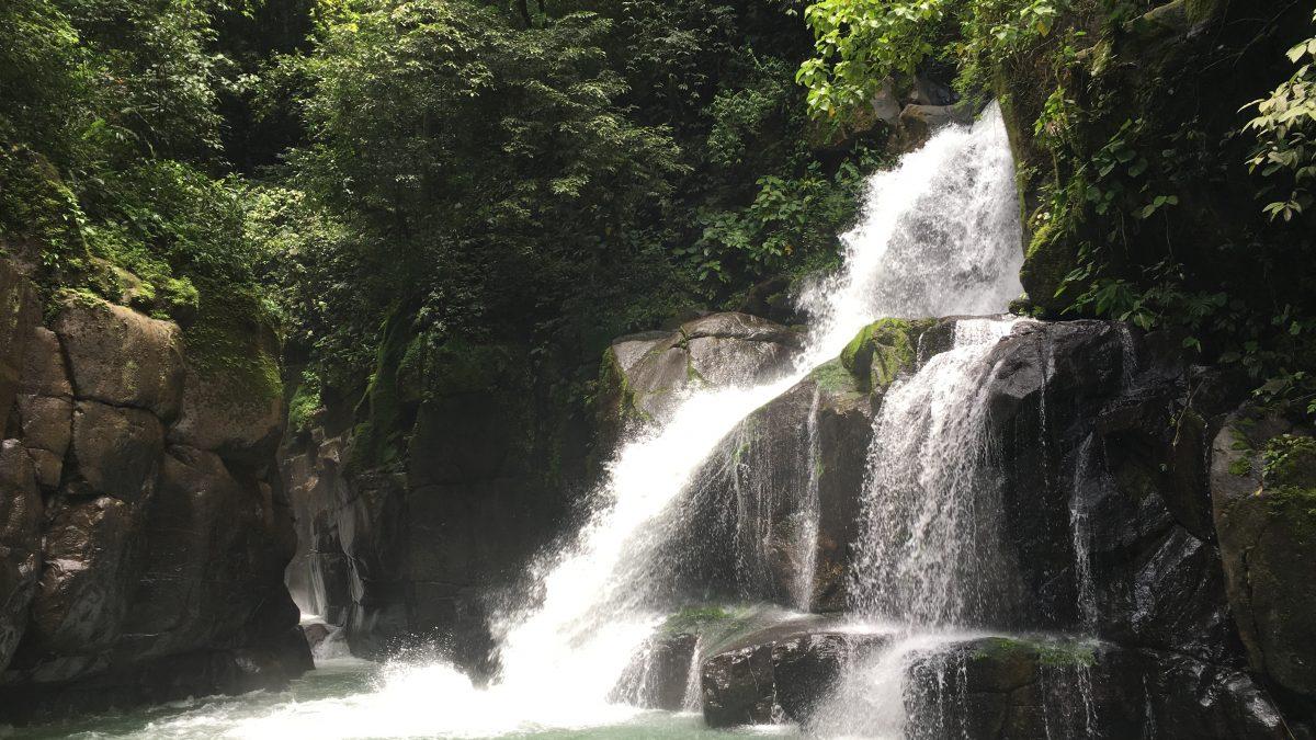 La Ceiba Waterfall Costa Rica
