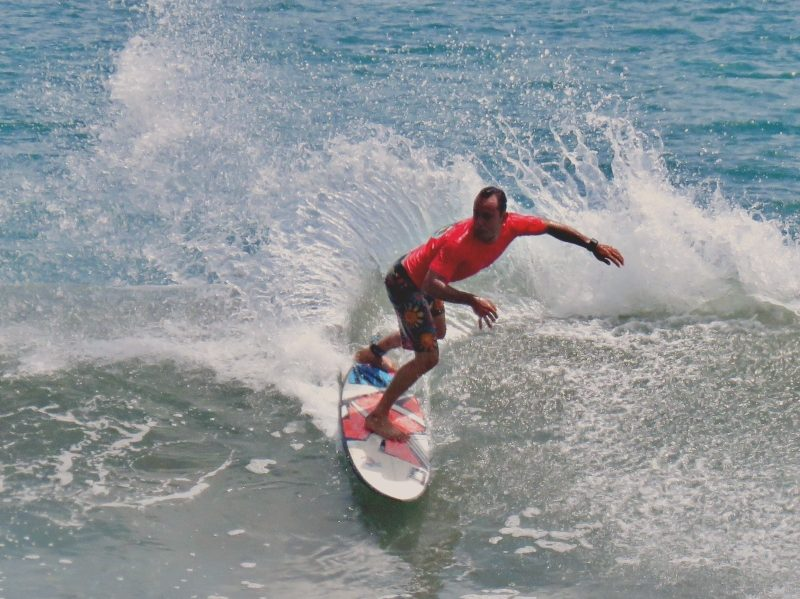 Josue Venegas Dominical Surf Contest