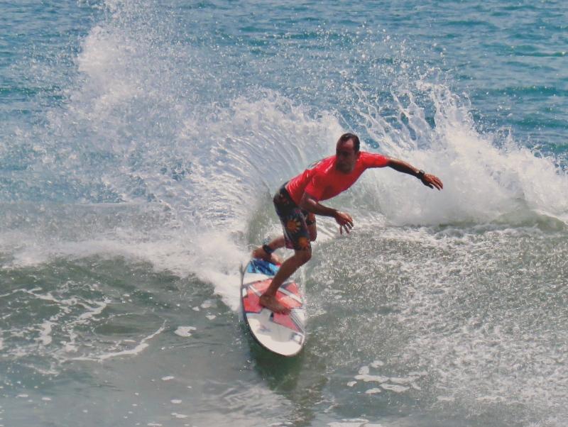 Josue Venegas Dominical Surf Contest