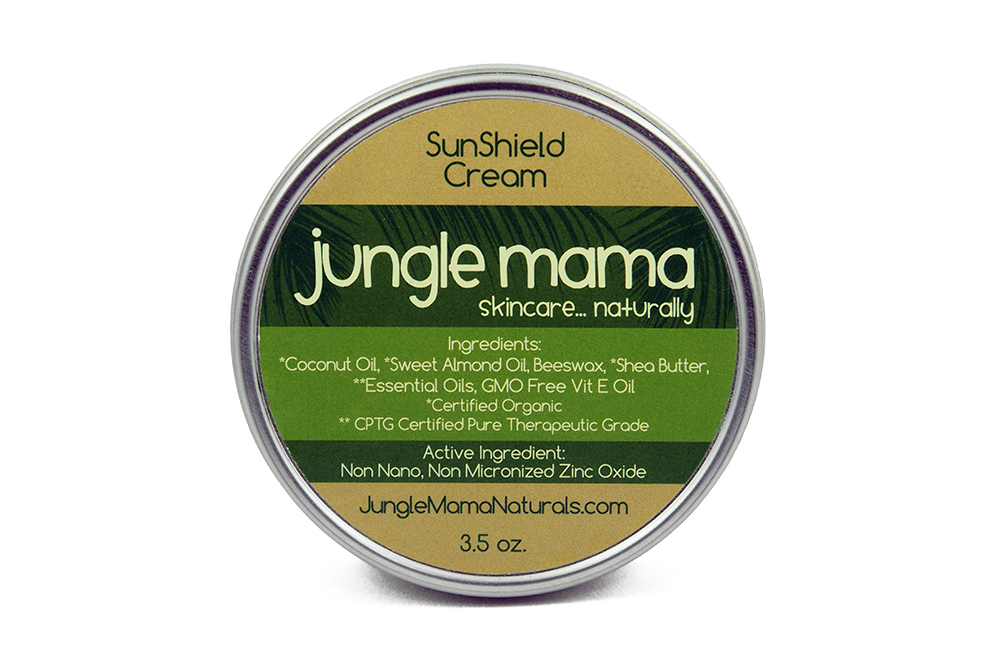 Jungle Mama Eco Friendly Reef Safe Sunscreen