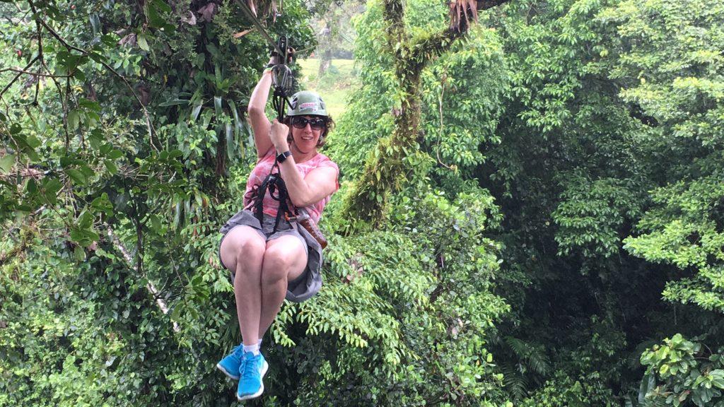 canopy tour Arenal