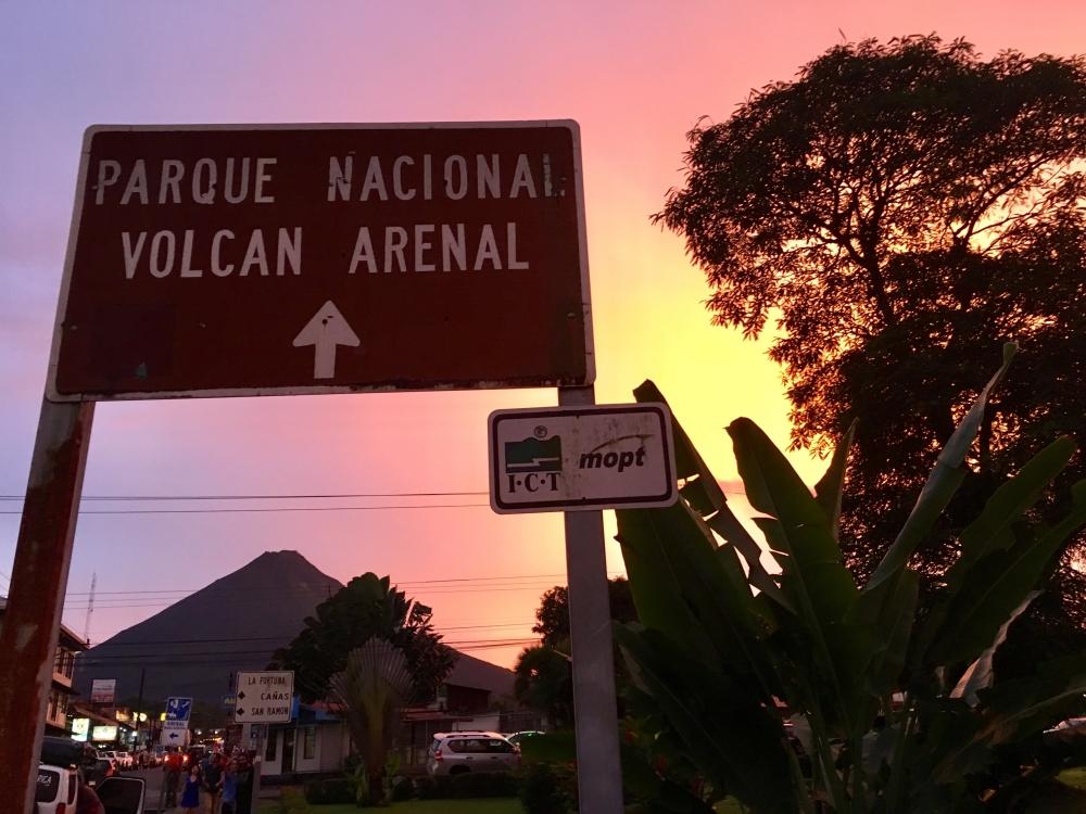 arenal-sunset