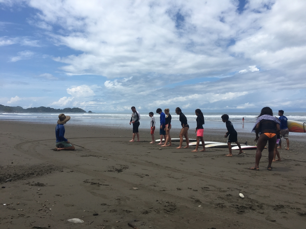 surf-lesson Dominical