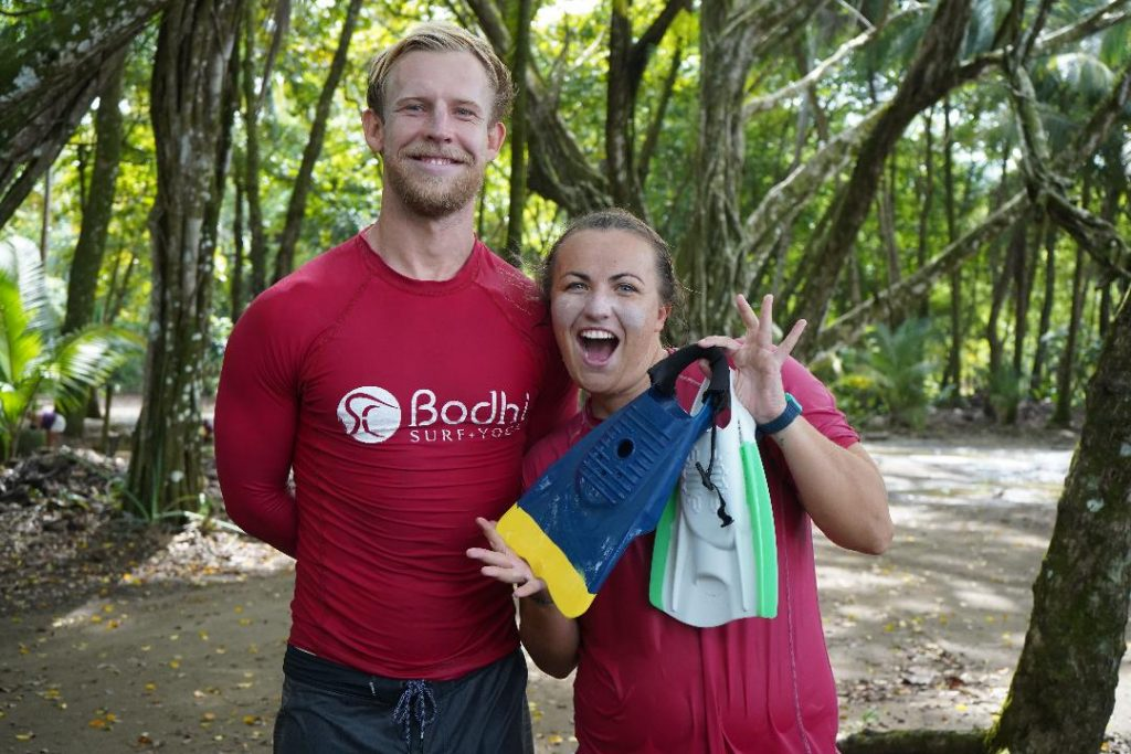 Bodysurfing instructors - Bodhi Surf and Yoga Uvita