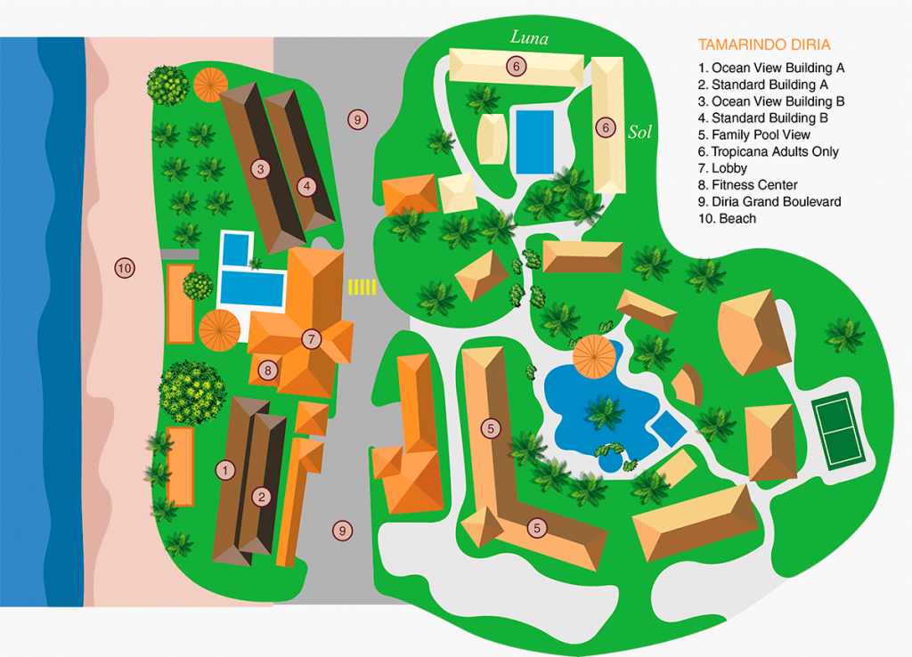 hotel_tamarindo_diria_beach_resort_rooms_map