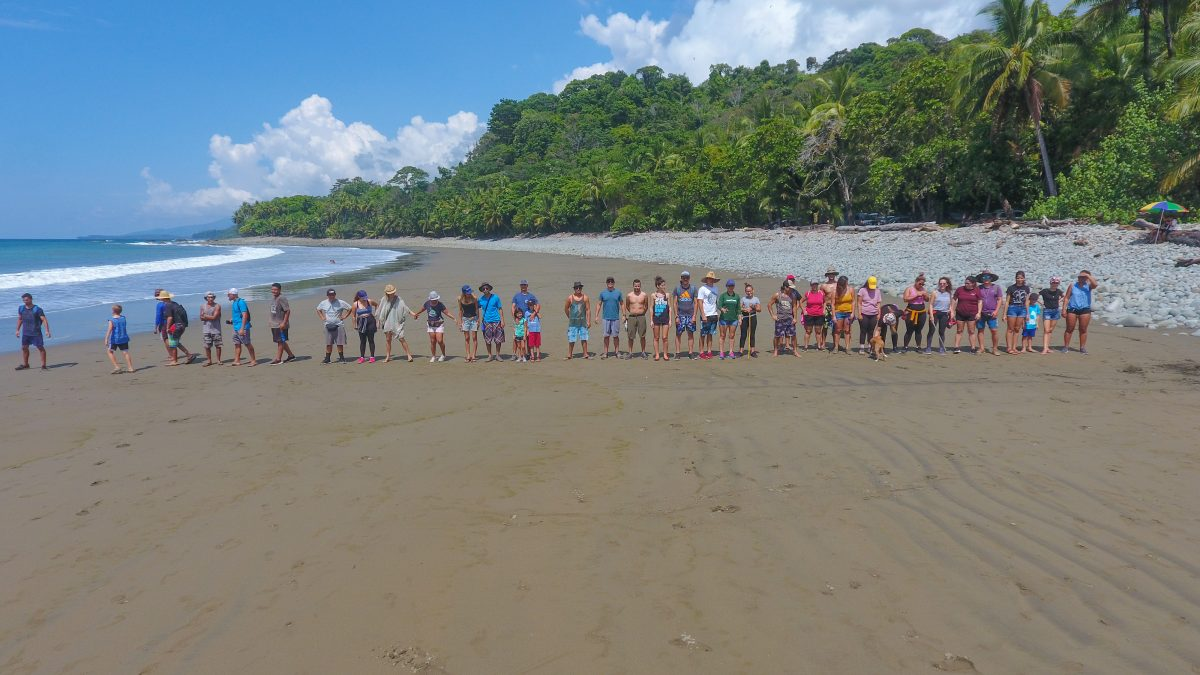 Green Team beach cleanup