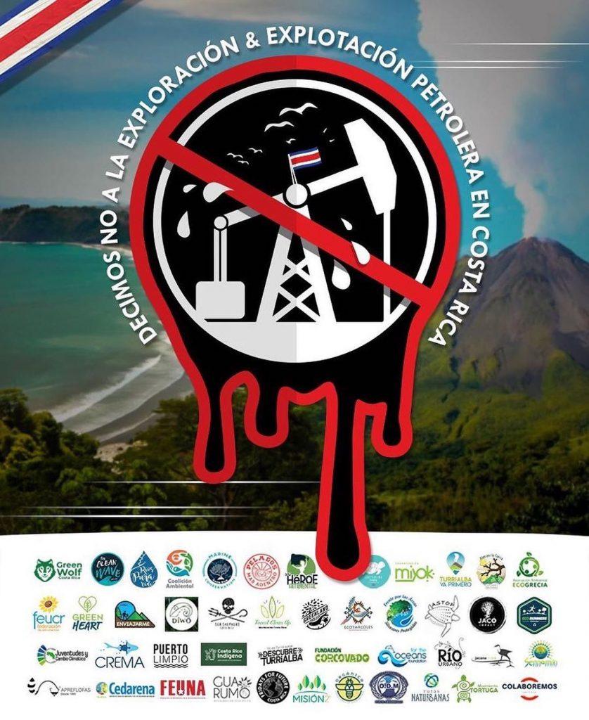 No oil drilling in Costa Rica