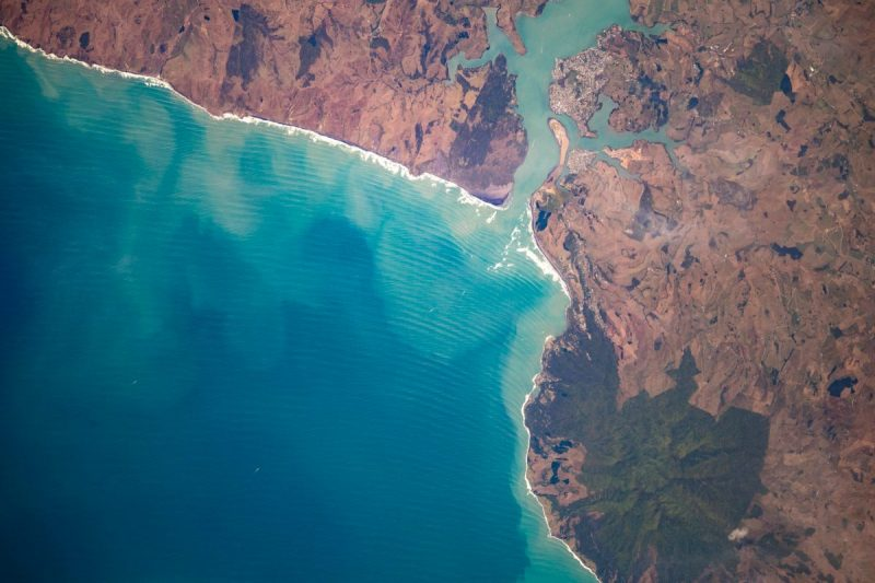 Raglan - photo by Christina Koch on board the ISS