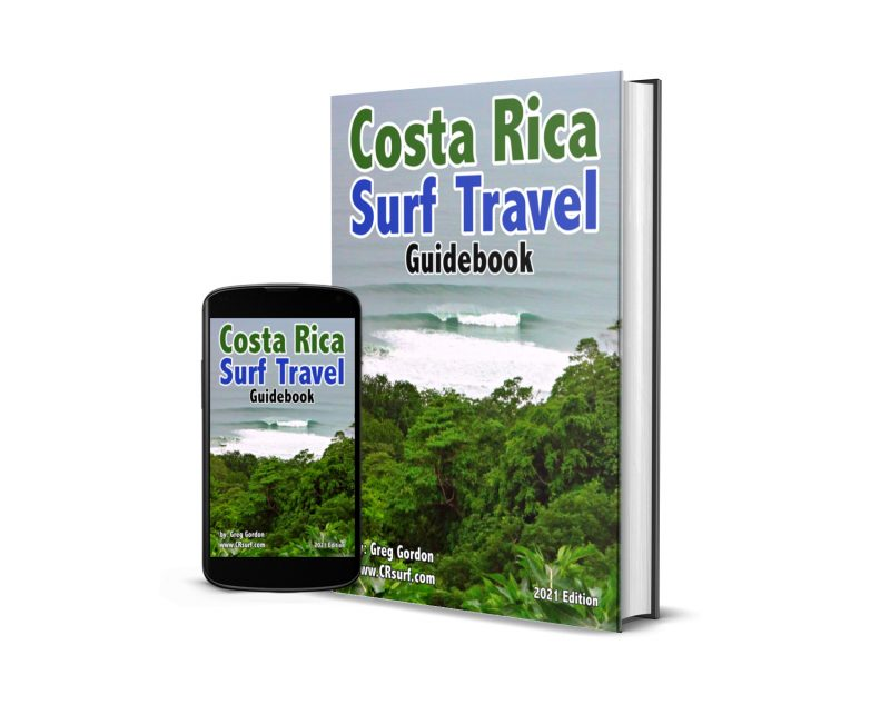 Costa Rica Surf Travel Guide Book
